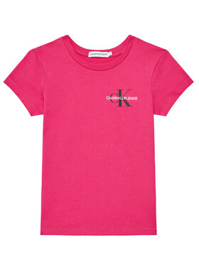 Calvin Klein Jeans Calvin Klein Jeans T-shirt Chest Monogram IG0IG00573 Ružičasta Regular Fit