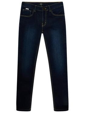 Boss Boss Τζιν J24669 S Σκούρο μπλε Skinny Fit