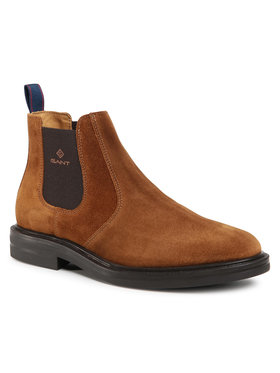 Gant Gant Členková obuv s elastickým prvkom Kyree 21653022 Hnedá