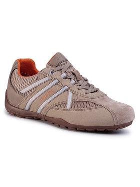 Geox Sneakersy U Ravex C U023FC 0AU14 C5004 Hnedá