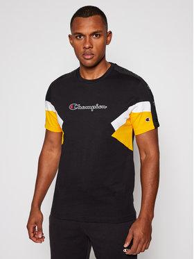 Champion Champion Marškinėliai 214789 Juoda Comfort Fit