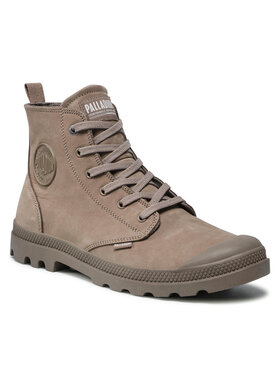 Palladium Palladium Outdoorová obuv Pampa Hi 06440-256-M Hnedá