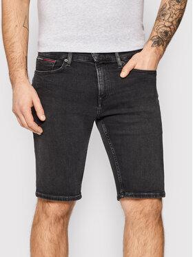 Tommy Jeans Tommy Jeans Džínové šortky Scanton DM0DM10570 Černá Slim Fit