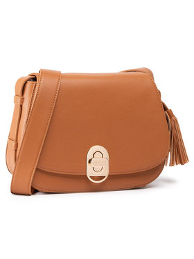 Trussardi Trussardi Дамска чанта Shoulder Md Tumbled 75B01002 Кафяв