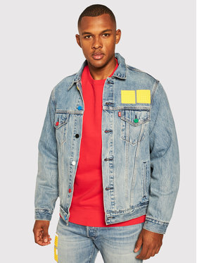 Levi's® Levi's® Farmer kabát LEGO 77380-0023 Kék Regular Fit