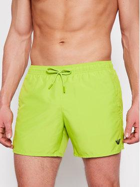 Emporio Armani Emporio Armani Pantaloni scurți pentru înot 211752 1P438 07483 Verde Regular Fit