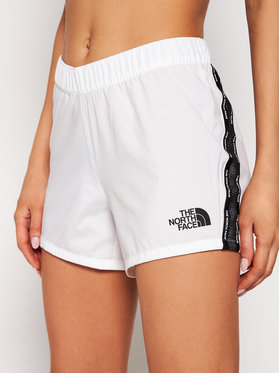 The North Face The North Face Pantaloni scurți sport W Ma NF0A556BFN41 Alb Regular Fit