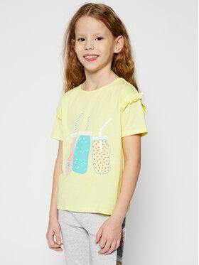 Billieblush Billieblush T-shirt U15721 Giallo Regular Fit