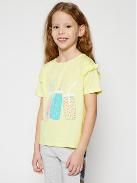 Billieblush Billieblush T-Shirt U15721 Żółty Regular Fit