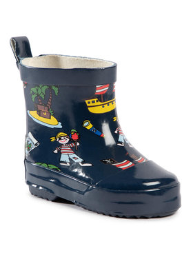 Playshoes Playshoes Gumáky 180363 Tmavomodrá