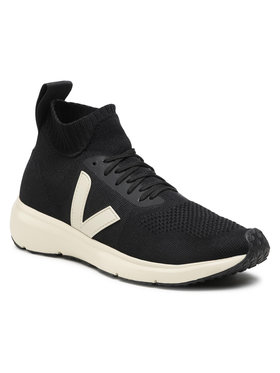 Veja Veja Sneakers Runner Style Mid V x Rick Owens OT102458B Nero