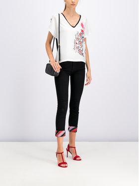 Cavalli Class Cavalli Class T-shirt B2ITB731 Blanc Regular Fit