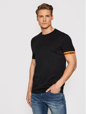 Dsquared2 Underwear Dsquared2 Underwear T-Shirt D9M3S3550 Czarny Regular Fit