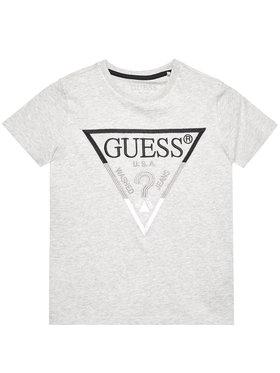 Guess Guess T-Shirt H1RJ05 K8HM0 Šedá Regular Fit