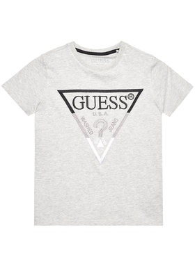 Guess Guess Tričko H1RJ05 K8HM0 Sivá Regular Fit