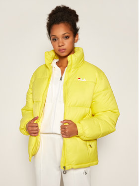 Fila Fila Giubbotto piumino Susi 688379 Giallo Regular Fit