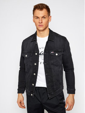 Tommy Jeans Tommy Jeans Farmer kabát Tommy Jeans DM0DM09781 Fekete Regular Fit