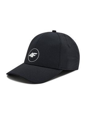 4F 4F Καπέλο Jockey H4L21-CAM007 Μαύρο
