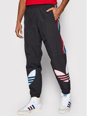 adidas adidas Долнище анцуг adicolor Tricolor Tp GN3577 Черен Regular Fit