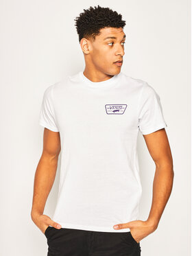 Vans Vans T-shirt Full Patch Back S VN0A3H5KYIG1 Blanc Slim Fit