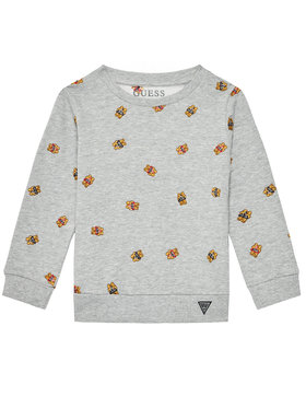 Guess Guess Bluză N1RQ10 KAE70 Gri Regular Fit