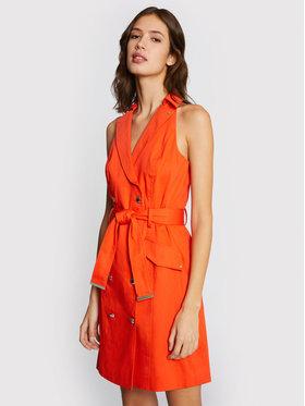 Morgan Morgan Kleid für den Alltag 211-RLYDIE Orange Regular Fit