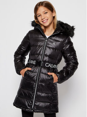 Calvin Klein Jeans Calvin Klein Jeans Vatovaná bunda Essential Down IG0IG00596 Čierna Regular Fit