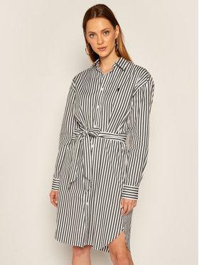 Polo Ralph Lauren Polo Ralph Lauren Sukienka koszulowa Striped 211781122005 Biały Regular Fit