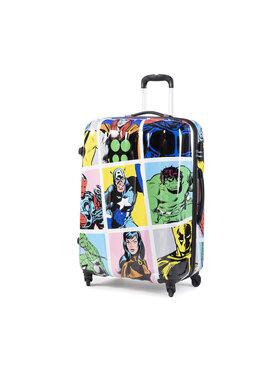 American Tourister American Tourister Duża Twarda Walizka Marvel Legends 64493-9073-1CNU Kolorowy