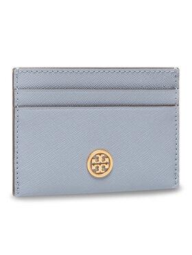 Tory Burch Tory Burch Kreditinių kortelių dėklas 54886 Mėlyna