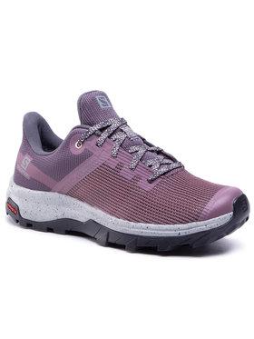 Salomon Salomon Turistiniai batai Outline Prism Gtx W GORE-TEX 411281 20 M0 Violetinė