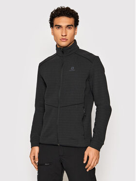 Salomon Salomon Technisches Sweatshirt Radiant LC1792400 Schwarz Regular Fit
