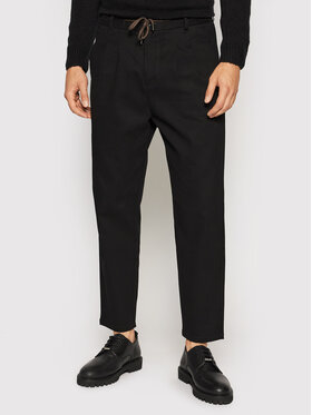 Only & Sons Only & Sons Chinosy Dew 22020404 Czarny Tapered Fit