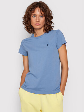 Polo Ralph Lauren Polo Ralph Lauren T-Shirt 211847073004 Blau Regular Fit