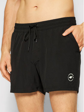4F 4F Pantaloncini da bagno H4L21-SKMT001 Nero Regular Fit