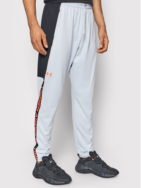 Under Armour Under Armour Долнище анцуг Ua Tricot Track 1366209 Сив Loose Fit