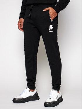 KARL LAGERFELD KARL LAGERFELD Pantalon jogging 705005 511900 Noir Regular Fit