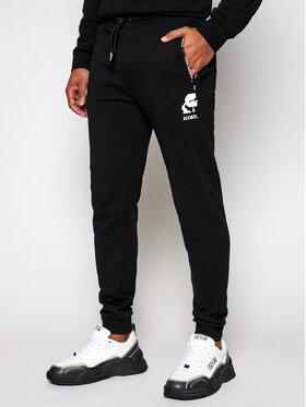 KARL LAGERFELD KARL LAGERFELD Spodnie dresowe 705005 511900 Czarny Regular Fit
