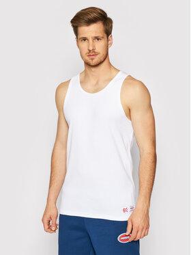 PROSTO. PROSTO. Tank top marškinėliai KLASYK Trevor 4042 Balta Regular Fit