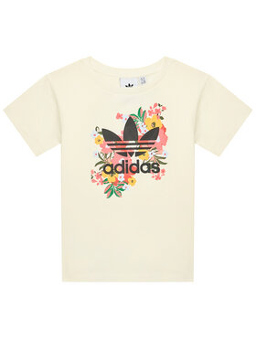 adidas adidas T-shirt HER Studio London Floral GN4216 Giallo Standard Fit