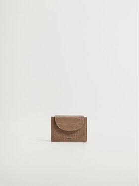 Mango Mango Etui na karty kredytowe Costa 17080141 Brązowy