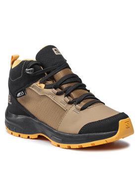Salomon Salomon Trekingová obuv Outward Cswp J 412849 09 W0 Hnědá
