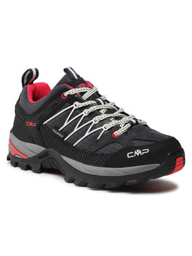 CMP CMP Παπούτσια πεζοπορίας Rigel Low Wmn Trekking Shoe Wp 3Q54456 Γκρι