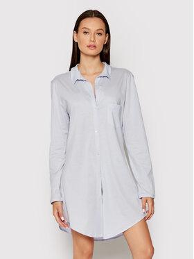 Hanro Hanro Nočná košeľa Deluxe 7958 Modrá