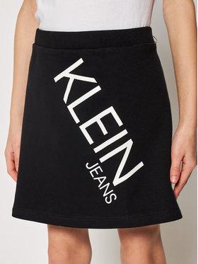 Calvin Klein Jeans Calvin Klein Jeans Szoknya Hero Logo IG0IG00607 Fekete Regular Fit