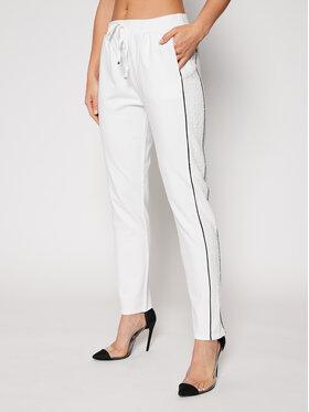 Liu Jo Sport Liu Jo Sport Spodnie dresowe TF0149 J6084 Biały Regular Fit