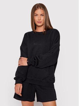 PLNY LALA PLNY LALA Sweatshirt Flora PL-BL-FO-00025 Schwarz Oversize