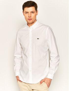 Lacoste Lacoste Košile CH7221 Bílá Slim Fit