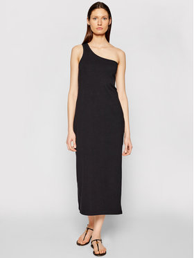 Seafolly Seafolly Ljetna haljina Schoulder 54229-DR Crna Regular Fit