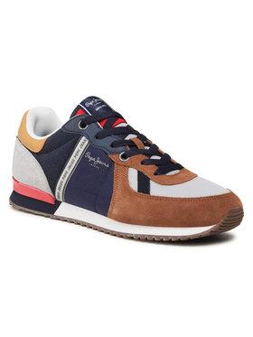 Pepe Jeans Pepe Jeans Sneakersy Tinker Zero 21 PMS30725 Hnědá